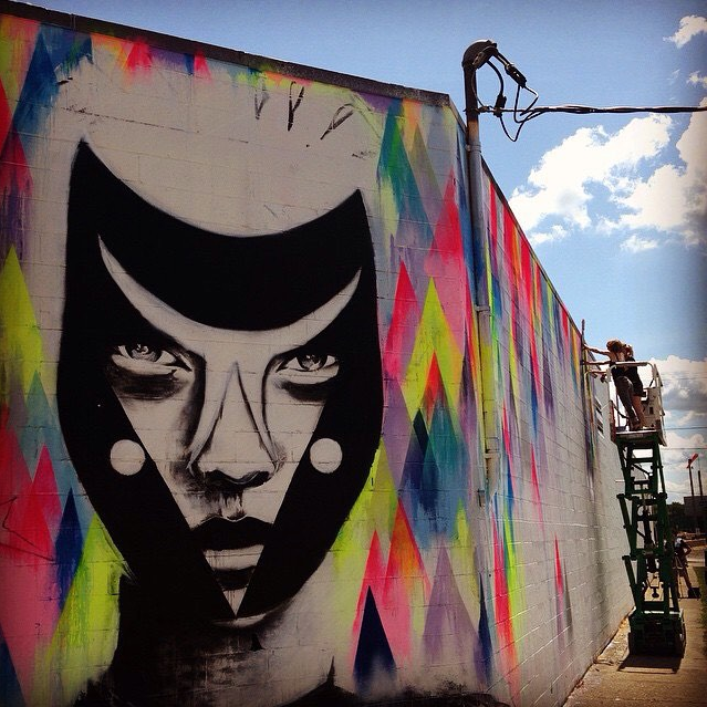Work by Vexta. Image courtesy of @rochesterny