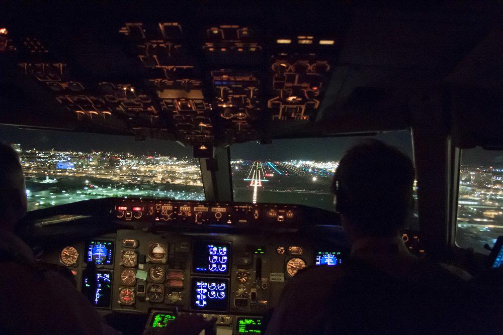 Approach to San Francisco, California - KSFO