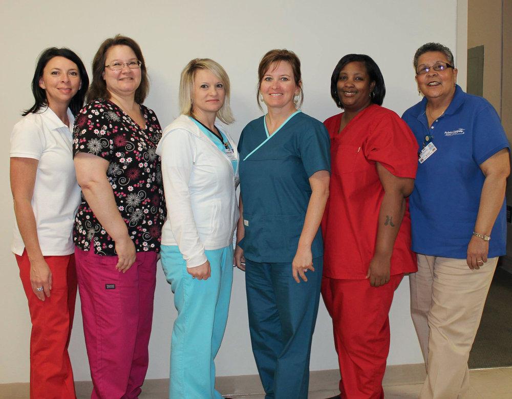 (Left to right) Letetia Bajoie, Brenda Billeaudeau, Dana Beauvais, Tracy Boudreaux, Herlise Maloid, Nora Porche. Not Pictured: Tiera Armstrong