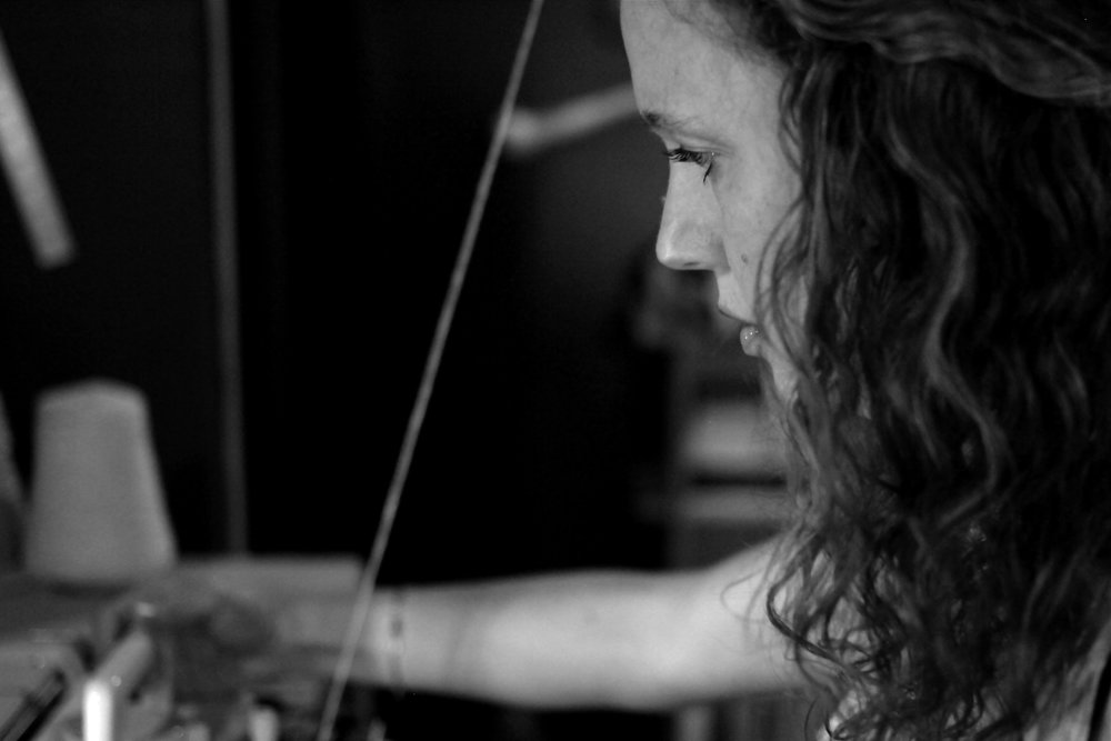 Shannon Welsh in her Portland, OR studio