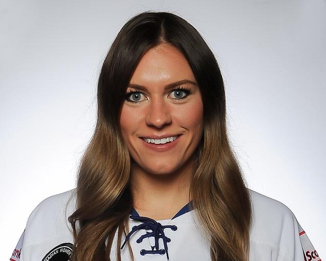 Natalie Spooner - Toronto Furies ForwardCanadian National Women's Ice Hockey Team