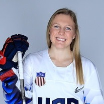 Kendall Coyne Schofield  will play as a Forward for Team USA during the Rivalry Series