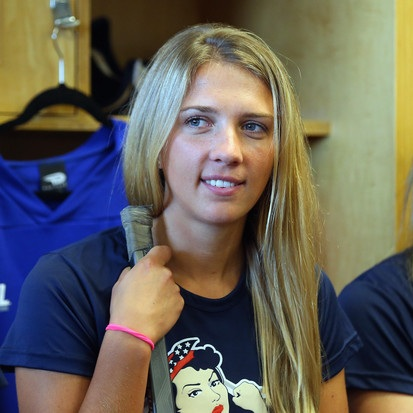 - Kiira Dosdall plays as a defender for the Metropolitan Riveters
