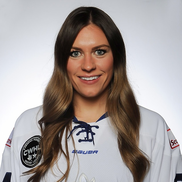 - Natalie Spooner plays as a forward for the Toronto Furies