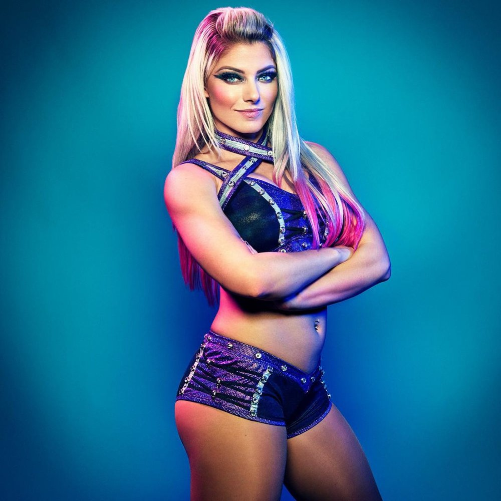 Alexa Bliss  will host WrestleMania 35
