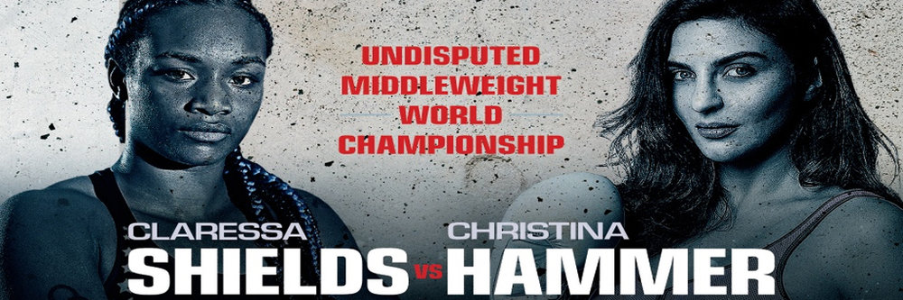 Undefeated middleweight world champions Claressa Shields and Christina Hammer will meet on Saturday, April 13 live on SHOWTIME to crown the women's undisputed 160-pound world champion.