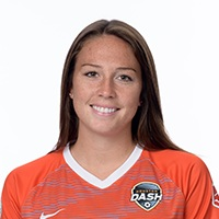 - Lindsay Agnew plays as a forward for the Houston Dash.