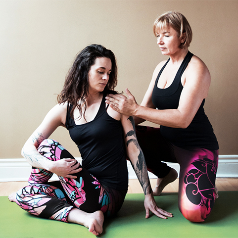 Basia Going, Teacher Trainer, Adi Shesha Yoga Zone, Ottawa