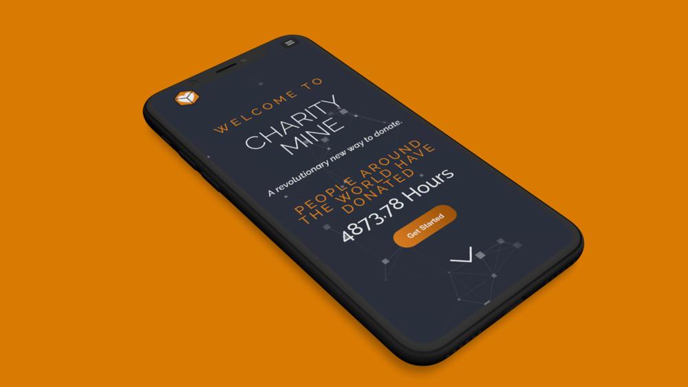 Charity Mine - Branding - Web design - Information Design