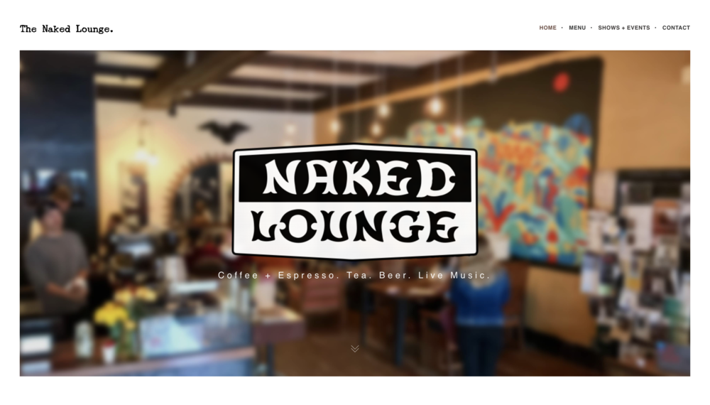 Naked Lounge - Web Design - Web Development