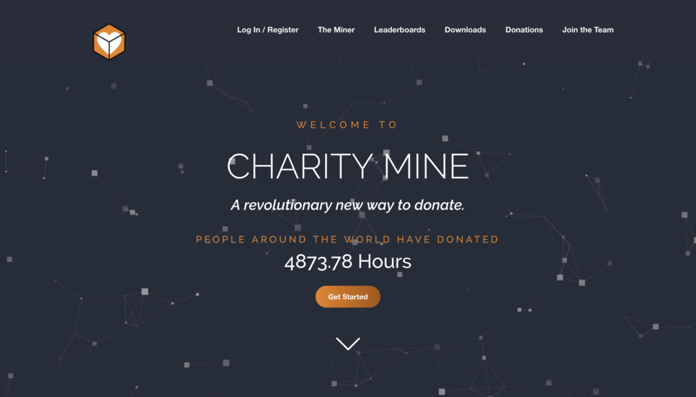 Charity Mine - Branding - Web Design - Software Design
