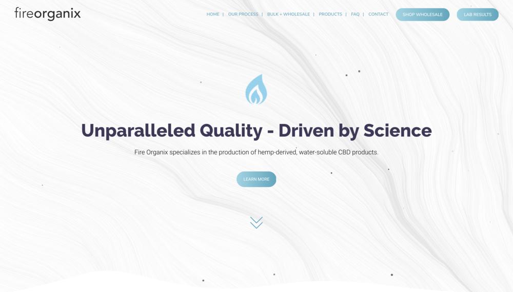 Fire Organix - Branding - Web Design - Product Design