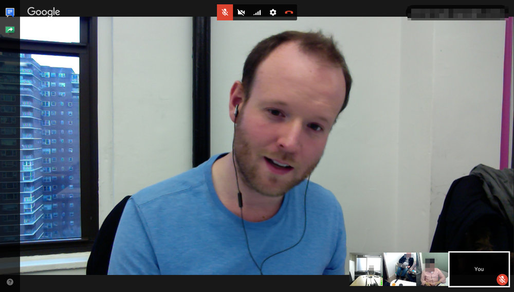 A round of stakeholder and end-user remote interviews