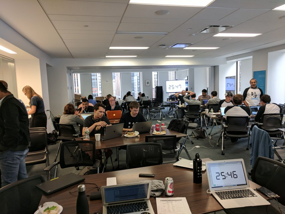The hackathon