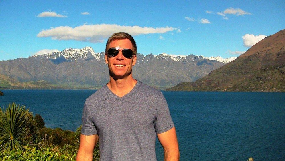 John in Queenstown, New Zealand