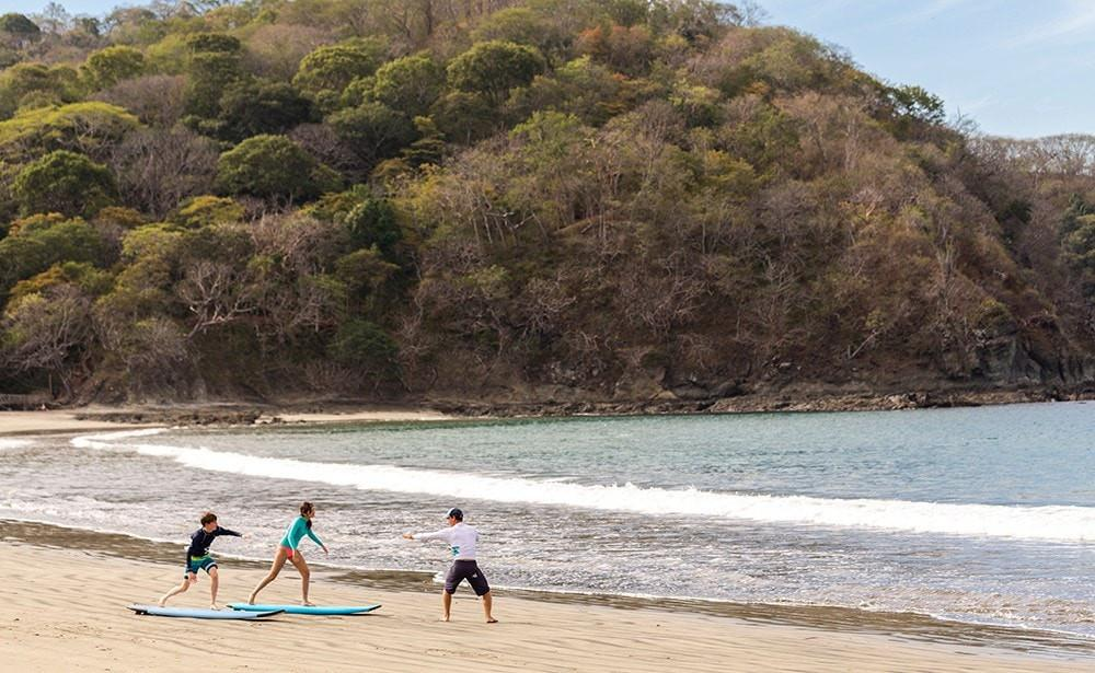 Surf Lessons Four Seasons Costa Rica