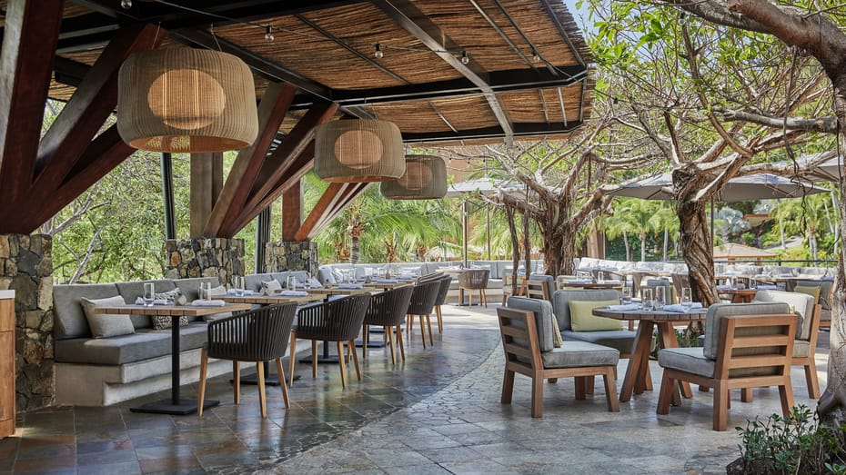 Dining at Four Seasons Costa Rica
