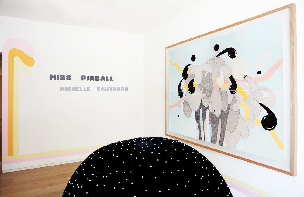 Installation view,   Miss Pinball    .M Contemporary, Sydney