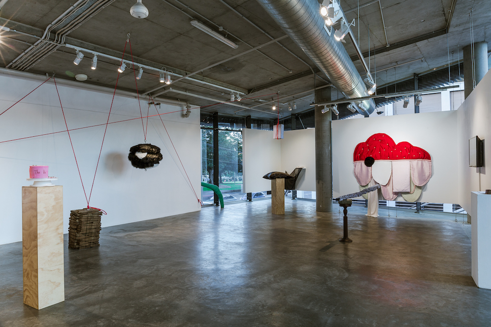 Installation view,   This is not a solo show    Verge Gallery, Sydney University, Sydney  Image credit: Document Photography