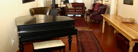 TPP Corridor and Baby Grand Piano