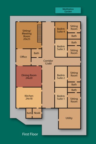 TPP - First Floor - Floor Plan