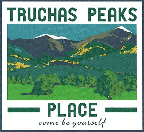 Truchas Peaks Logo Card