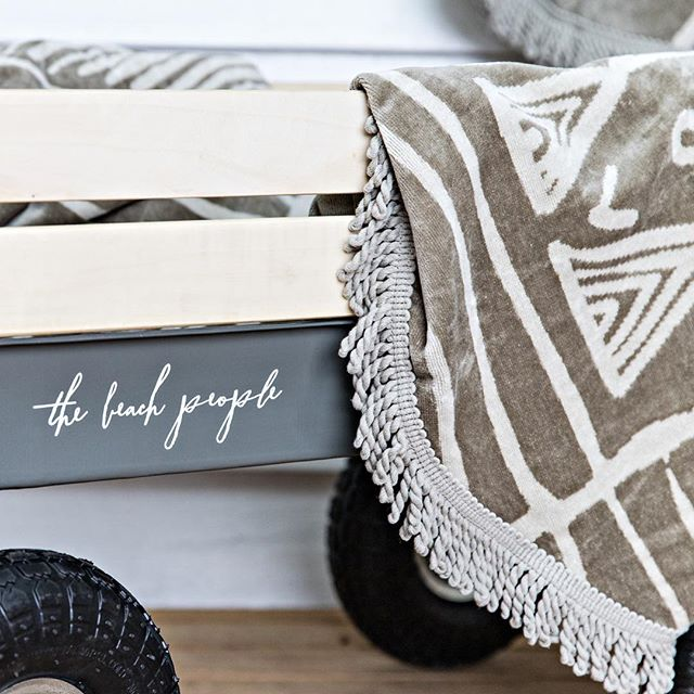 BEACH DAYS . . For some it's farm stays & others it's the city. But for many of us holidays & the beach go hand in hand. . . @thebeachpeople have you covered with their roundie towels & beach cart. . . Check out our 'Shop the Look' (link in bio) for the pieces we used at the SOUL Cottage from our friends @thebeachpeople . . 📸 @the.palm.co