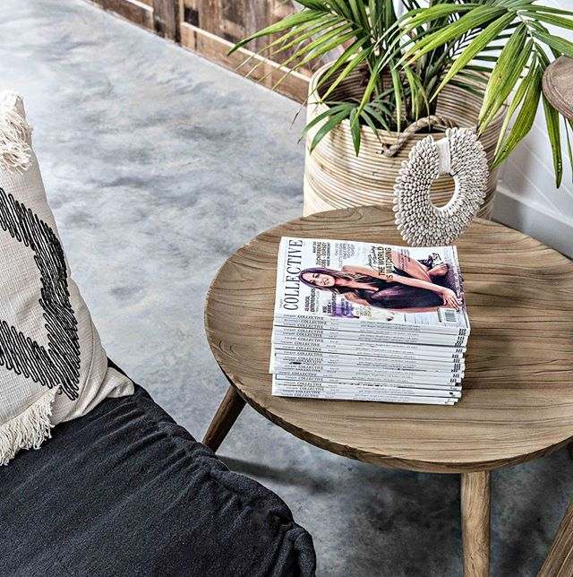 BE INSPIRED . . Check in for the holiday vibes & you  can chill out whilst reading the full set of the @collectivehub mags. . . You might have to kick me out first 😂 . . Check out our 'Shop the Look' (link in bio) to purchase your set of @collectivehub for your home 👊 . . 📸 @the.palm.co