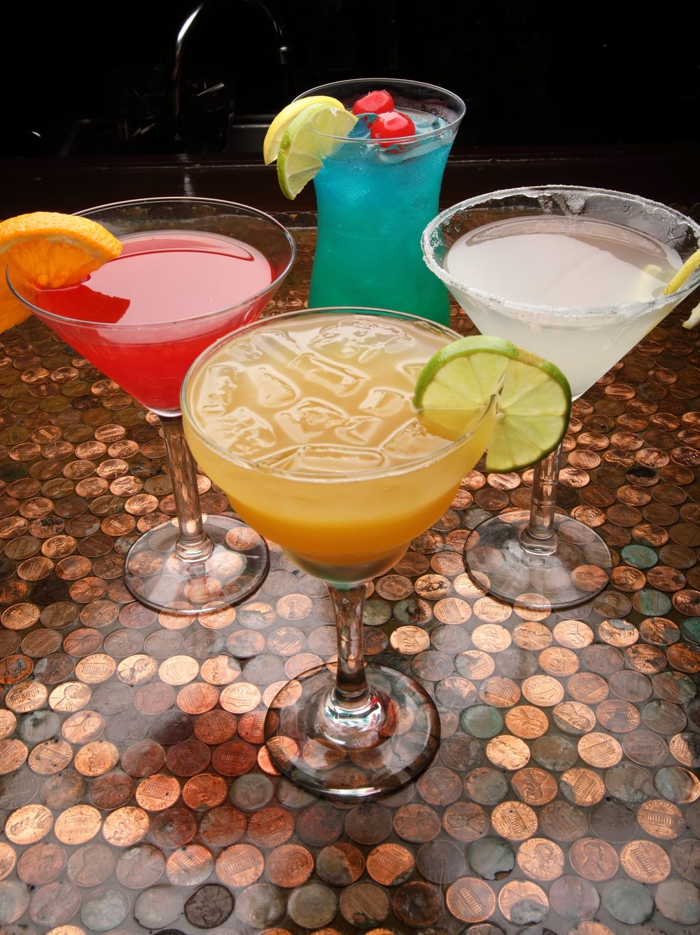 get a drink. - Specialty drink cocktail selections and your favorite shots are all on deck for your enjoyment.