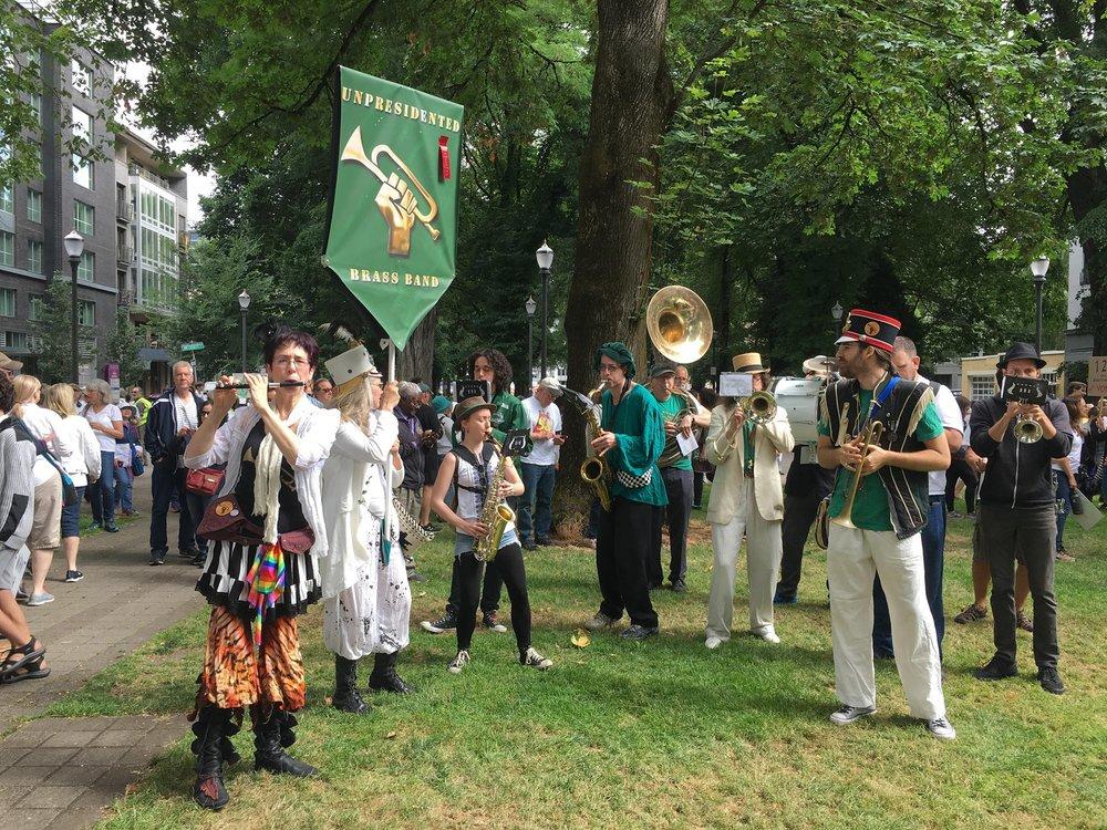 Unpresidented Brass Band