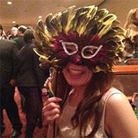 ニューイヤーズイブのマスクパーティ