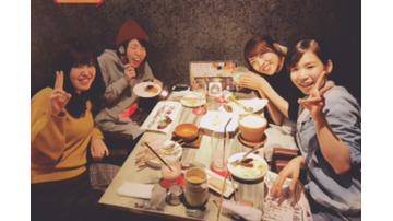 看護学校時代の友人との食事会