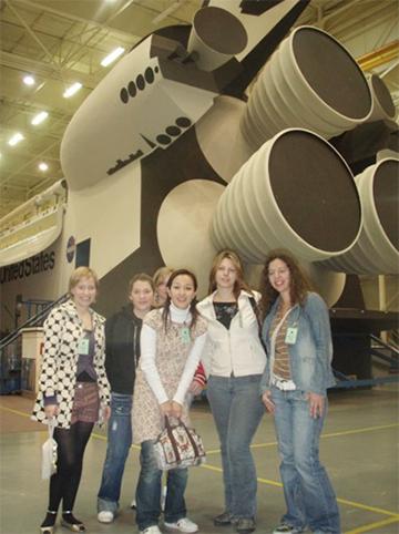 Au Pair仲間と参加したNASAツアー