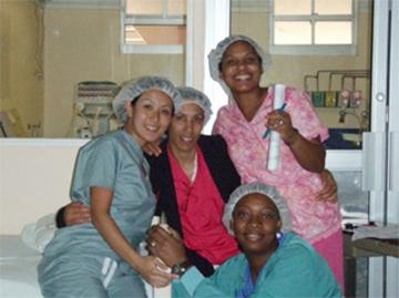 JamaicaのICU看護スタッフ