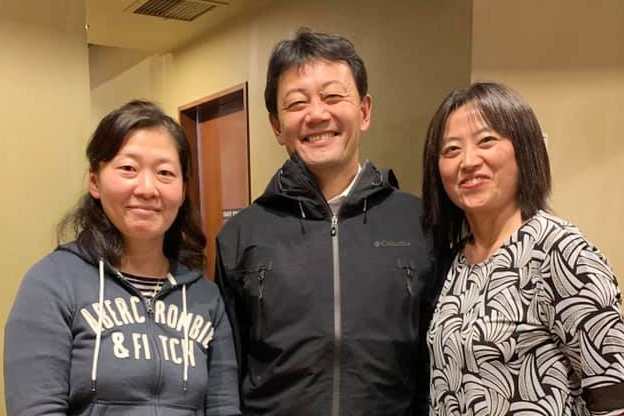 お話し会午後の部。日米訪問看護提携社にて。2019年春に向けて、ロサンゼルスでパートナー展開します。