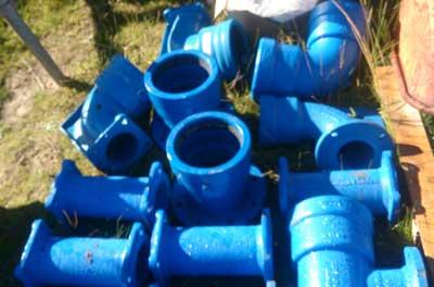 Poly Pipe welding for long lasting leak repairs