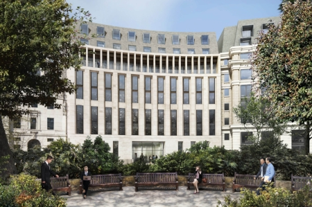 8 Finsbury Circus   Hydrosphere pre-commission cleaning of LTHW & CHW main plant and services supplying eight floors of FCU's..  Chlorination of all domestic hot water services and all boosted cold water services.