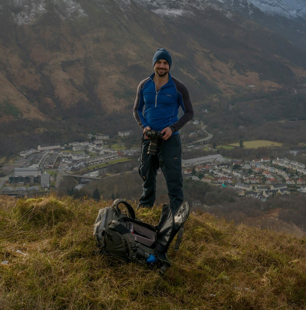 On location, Kinlochleven, Scotland, January 2018