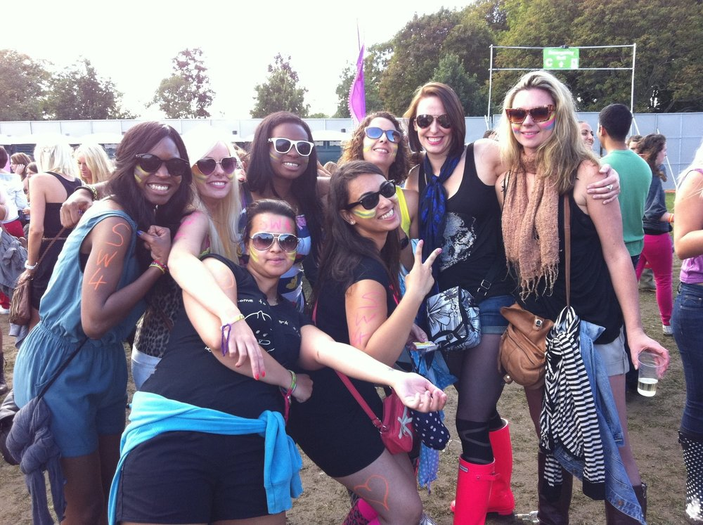 Rave Club crew at SW4 August 2011.