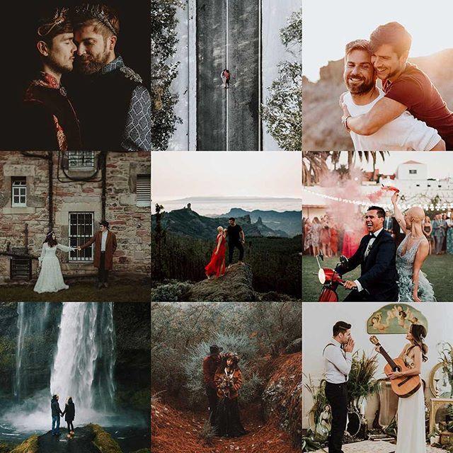 2018 ha sido un año increíble. La fotografía nos ha regalado poder conocer gente maravillosa y lugares mágicos. Nos enorgullece ser parte de vuestra historia, inmortalizar vuestros sueños y plasmarlos en imágenes. Gracias a todas las parejas y proveedores que han sido parte de nuestra propia historia. 2019 comienza del mejor modo posible.