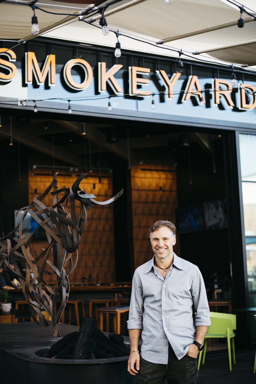WELCOME TO SMOKEYARD SAN DIEGOat UTC MALL - After a decade of creativity and discovery in the exciting LA restaurant scene, we decided to do what we love, in a town we love, and so Smokeyard Mammoth was born. Ten years later, we've brought Smokeyard to sunny San Diego to begin a new chapter.Our style is modern California BBQ. All our meats are dry-rubbed, then smoked slow and low, till tender and juicy. From our roots in South Africa to our home in California, Smokeyard's menu is fun, familiar, delicious, and crave-worthy. From our kitchen to your table, or catered to your home or office, we hope you enjoy Smokeyard Modern BBQ!