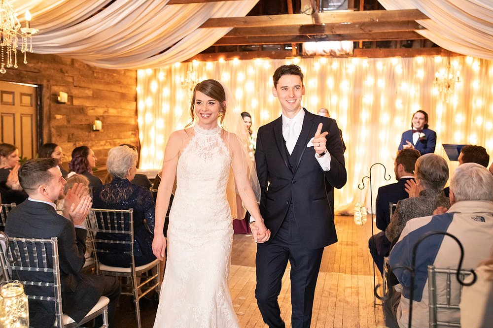 Best. Recessional. Photo. Ever.