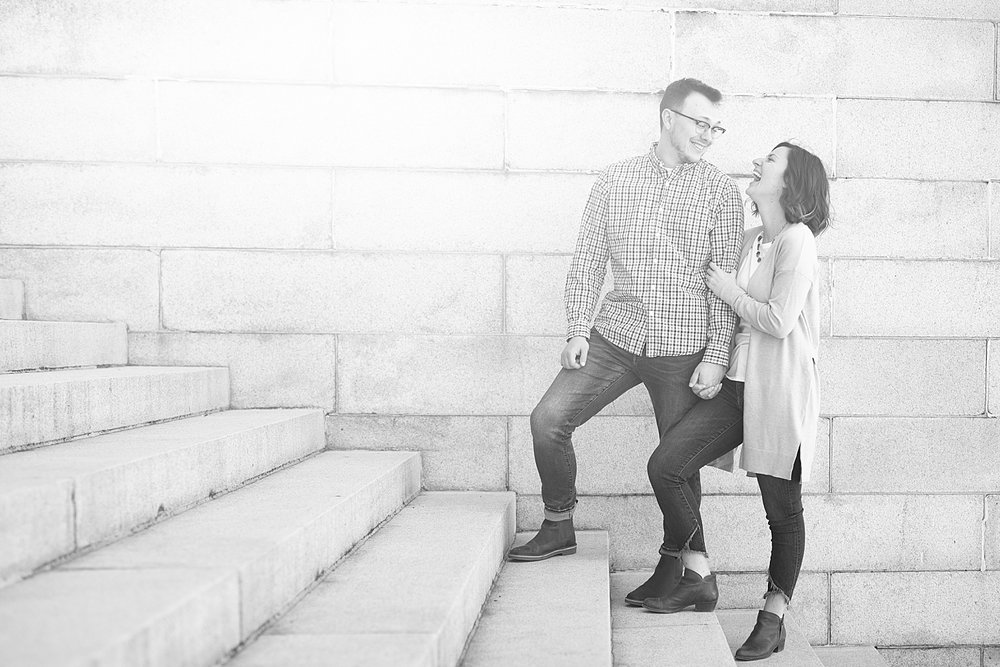 Zach kept her laughing the entire session!