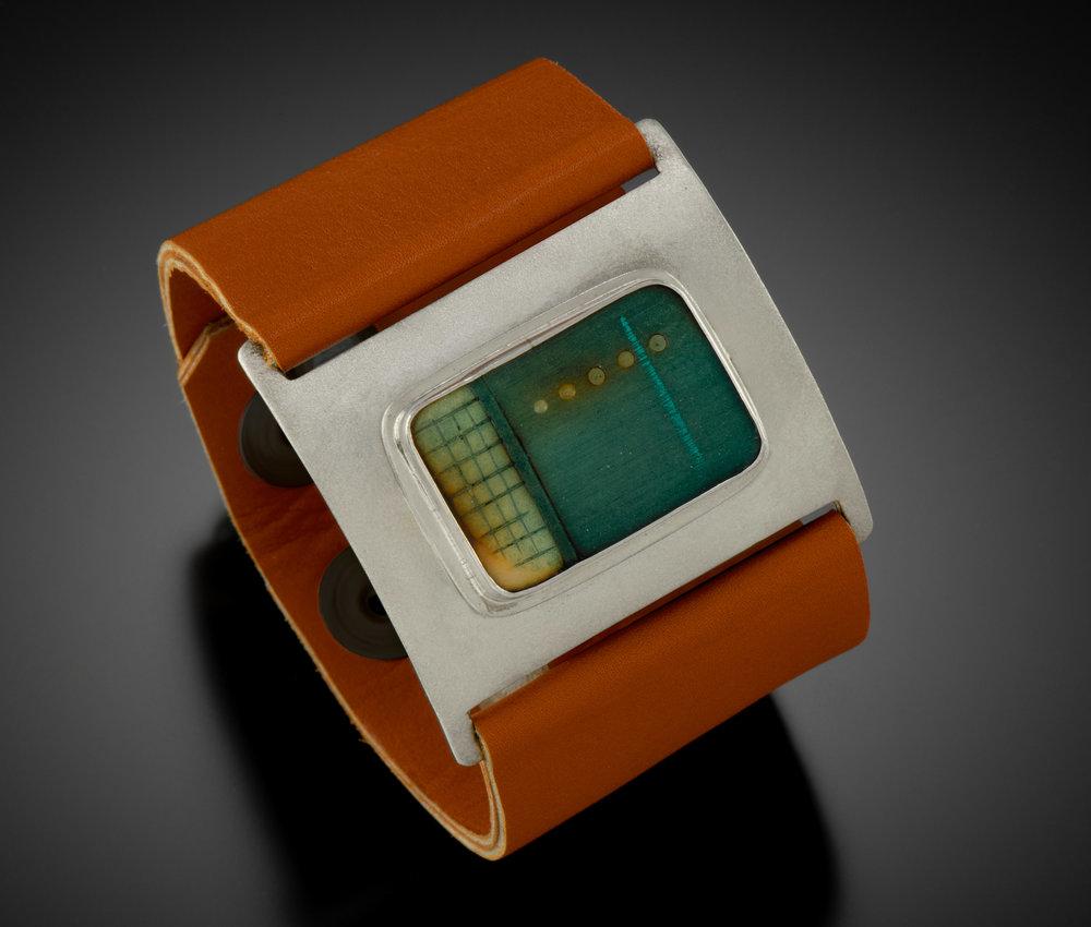 Tagua Wrist Wrap Bracelet