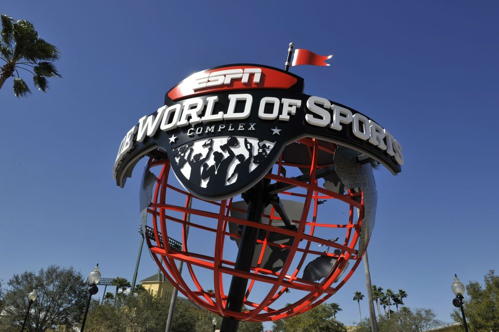 Sports & Entertainment - Walt Disney World Resort is also home to world-class sporting and entertainment venues, including the ESPN Wide World of Sports Complex which hosts many amateur and professional sporting events, four golf courses, and two miniature golf facilities.