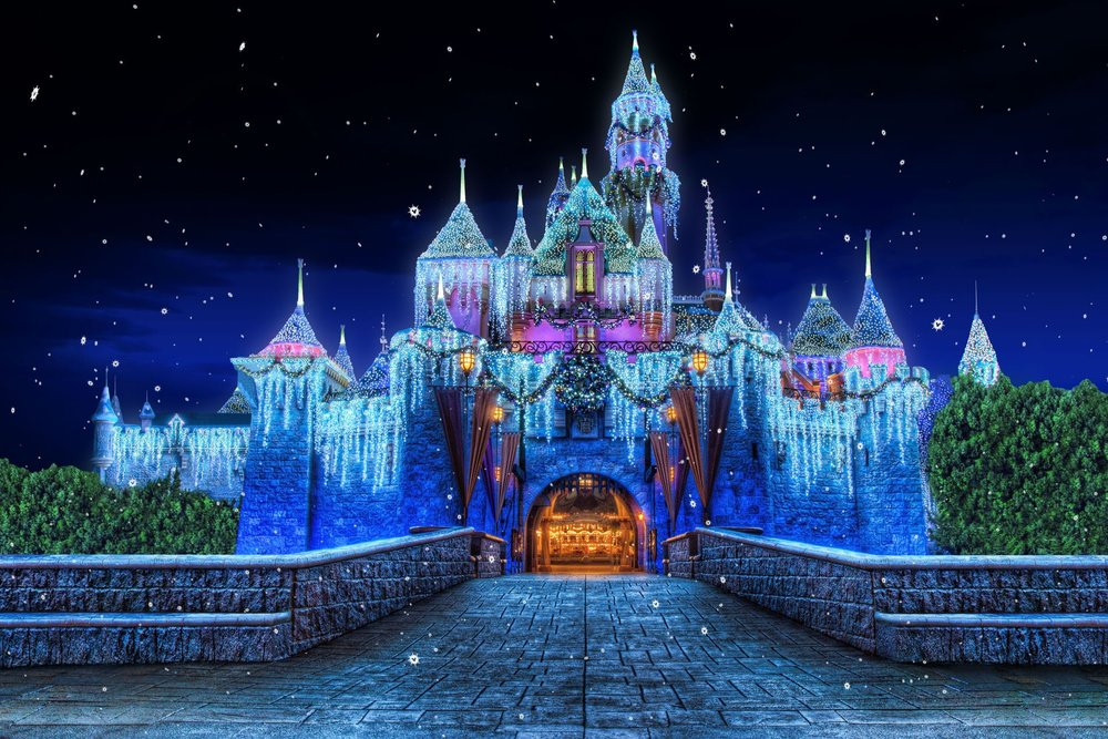 DISNEYLAND Resort (California) - The Happiest Place on Earth includes two theme parks, three on-site resort hotels, and its own shopping, dining, and entertainment district, all within the same complex in Anaheim California.