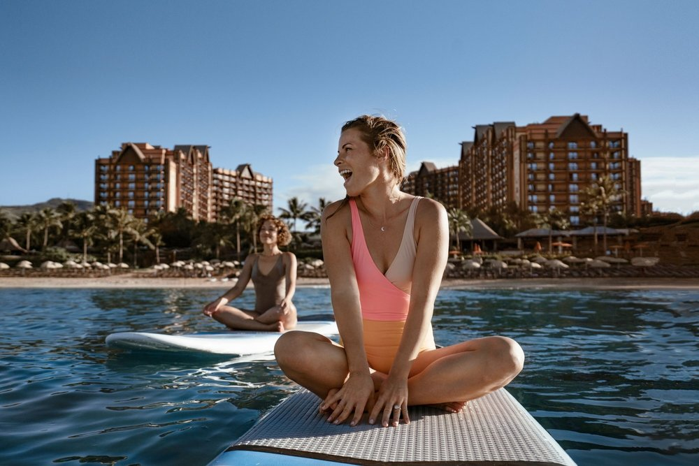 On-site Activities - There is enough to do at Aulani that you never have to leave the resort, if you so choose. Relax at the pool, play at the private beach, listen to live entertainment, or meet some Disney characters. Whatever your interest, Aulani has it available.