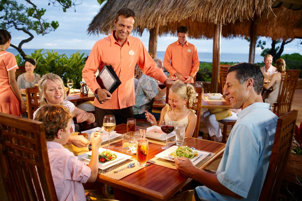 Resort Dining - Aulani offers both family-friendly and adults-only dining options for families of all sizes and desires.