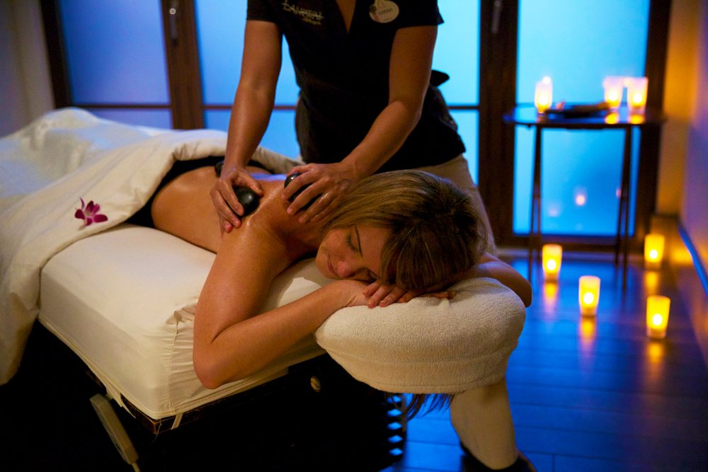 Spa & Fitness - Laniwai, the spa at Aulani, is a full-service spa, offering massages, facials, salon services, and a fitness center, that caters to both individuals and families alike.