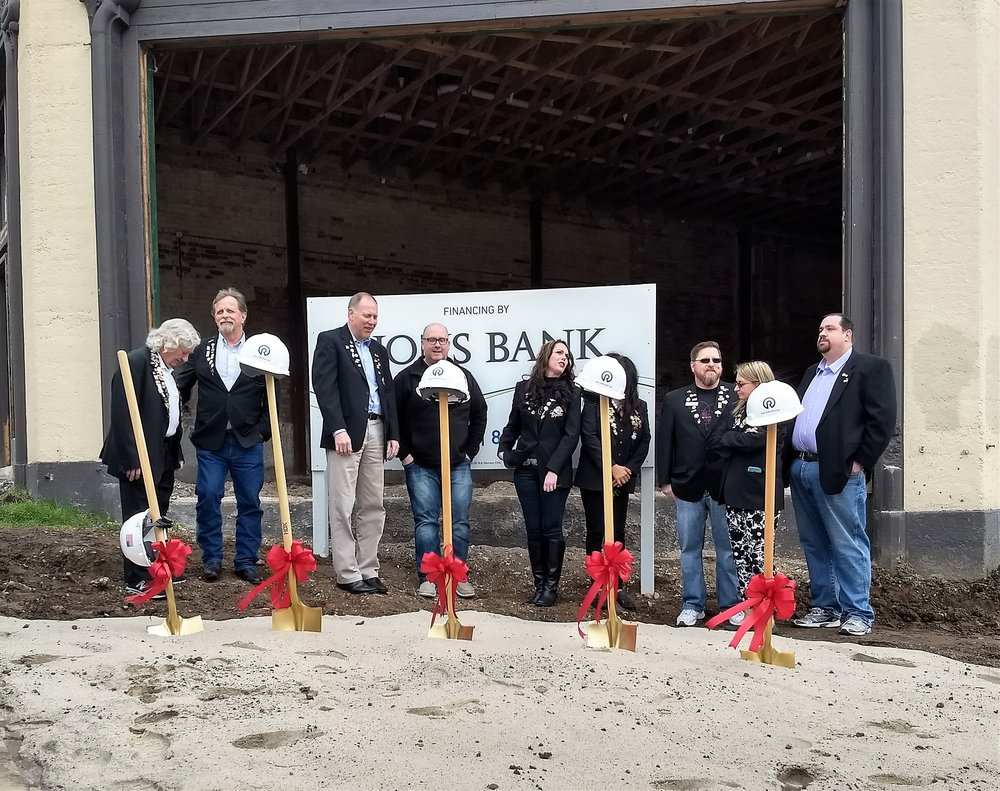 GROUNDBREAKING CEREMONY -